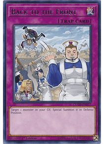 Back to the Front - COTD-EN077 - Rare
