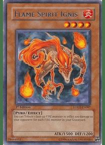 Flame Spirit Ignis - LODT-EN087 - Rare