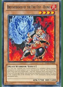 Brotherhood of the Fire Fist - Rhino - LTGY-EN028 - Rare