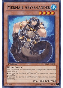 Mermail Abyssmander - ABYR-EN081 - Rare