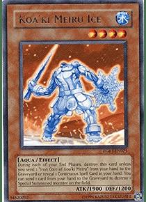 Koa'ki Meiru Ice - RGBT-EN025 - Rare