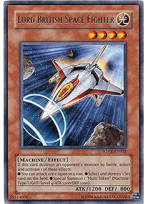 Lord British Space Fighter - SOVR-EN035 - Rare