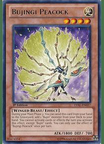 Bujingi Peacock - LVAL-EN027 - Rare