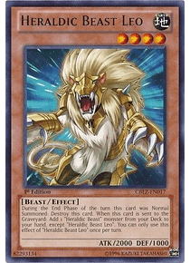 Heraldic Beast Leo - CBLZ-EN017 - Rare