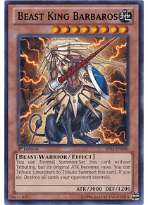 Beast King Barbaros - BP02-EN080 - Rare