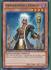 Gravekeeper's Heretic - LVAL-EN084 - Rare