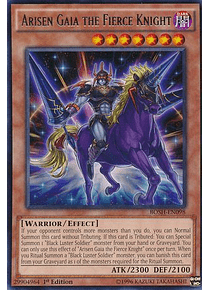 Arisen Gaia The Fierce Knight - BOSH-EN098 - Rare