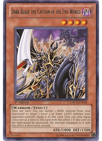 Dark Blade the Captain of the Evil World - ORCS-EN034 - Rare