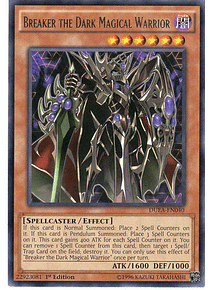 Breaker the Dark Magical Warrior - DUEA-EN040 - Rare (español)