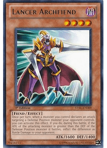 Lancer Archfiend - STBL-EN009 - Rare