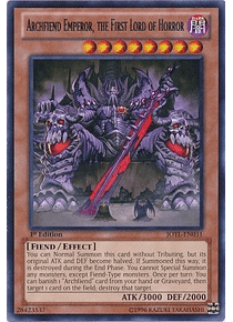 Archfiend Emperor, the First Lord of Horror - JOTL-EN031 - Rare