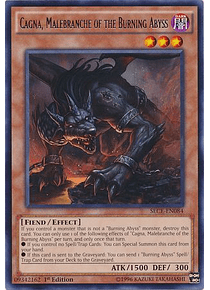Cagna, Malebranche of the Burning Abyss - SECE-EN084 - Rare
