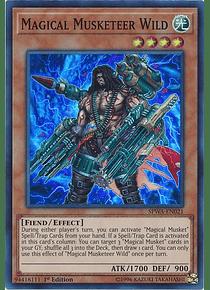 Magical Musketeer Wild - SPWA-EN021 - Super Rare