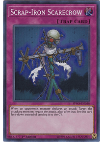 Scrap-Iron Scarecrow - SPWA-EN058 - Super Rare