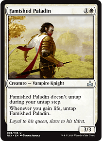 Famished Paladin - RIX