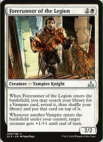 Forerunner of the Legion - RIX