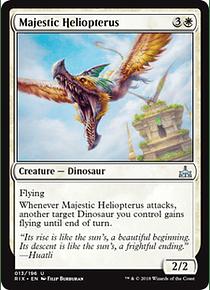 Majestic Heliopterus - RIX