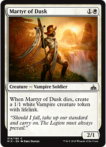 Martyr of Dusk - RIX
