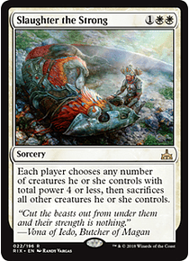 Slaughter the Strong - RIX