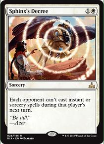 Sphinx's Decree - RIX