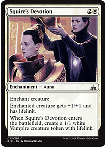 Squire's Devotion - RIX