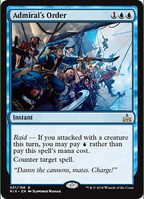 Admiral's Order - RIX