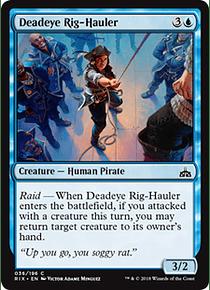 Deadeye Rig-Hauler - RIX