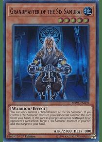 Grandmaster of the Six Samurai - SPWA-EN009 - Super Rare