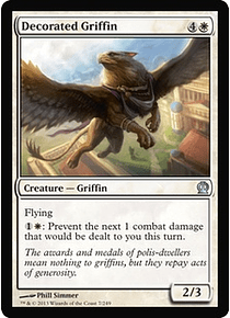 Decorated Griffin - THR