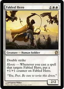 Fabled Hero - THR