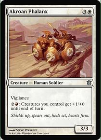 Akroan Phalanx - BOG