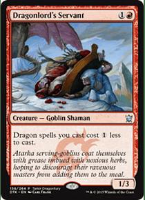 Dragonlord's Servant (Dragons of Tarkir Dragonfury Game) - DTK