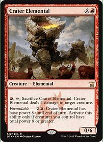 Crater Elemental - DTK