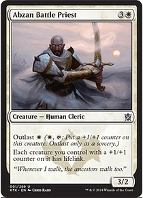 Abzan Battle Priest - KTK
