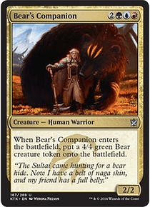 Bear's Companion - KTK
