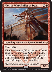 Alesha, Who Smiles at Death - FRF
