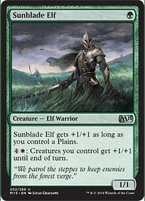 Sunblade Elf - M15
