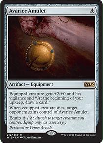 Avarice Amulet - M15