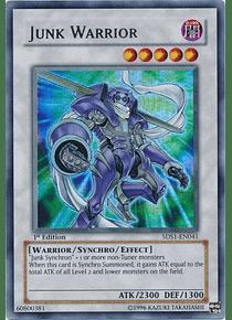 Junk Warrior - 5DS1-EN041 - Ultra Rare