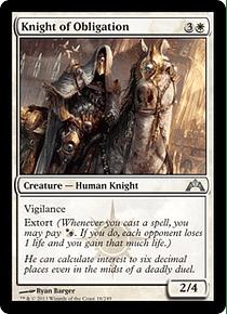 Knight of Obligation - GTC