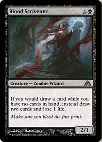 Blood Scrivener - DMZ