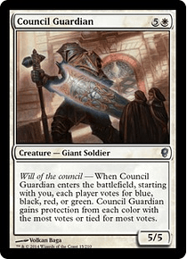 Council Guardian - CONS