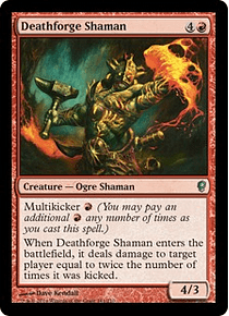 Deathforge Shaman - CONS