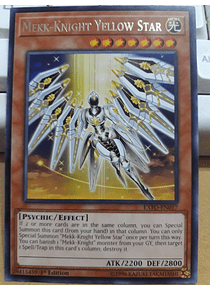Mekk-Knight Yellow Star - EXFO-EN017 - Rare