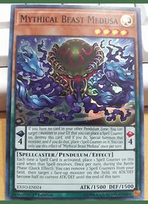 Mythical Beast Medusa - EXFO-EN024 - Super Rare
