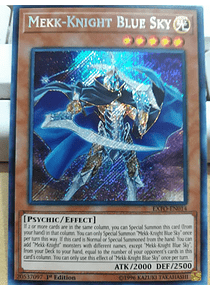 Mekk-Knight Blue Sky - EXFO-EN014 - Secret Rare