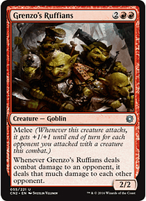Grenzo's Ruffians - TTC