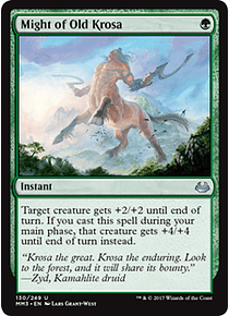 Might of Old Krosa - MM17