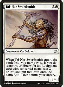 Taj-Nar Swordsmith - MM15