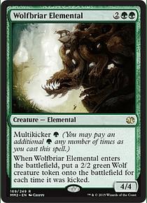 Wolfbriar Elemental - MM15